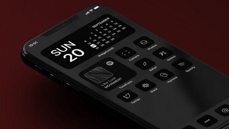 Traf iPhone design